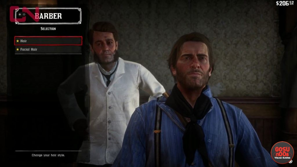 Red Dead Redemption 2 Hair Beard Styles How To Cut Shave