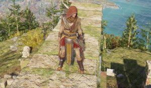 ac odyssey artemis set legendary armor