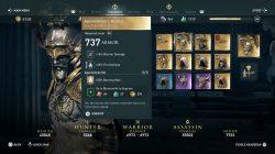 agamemnon legendary set helmet armor ac odyssey
