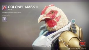 destiny 2 colonel mask