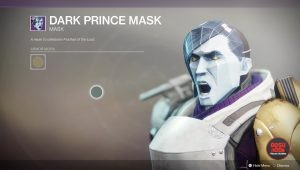 destiny 2 dark prince mask