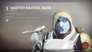 destiny 2 master rahool mask