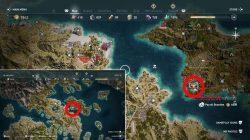 how to unlock cult of kosmos fort lokris clue ac odyssey