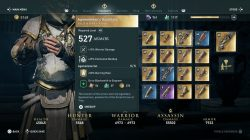 legendary armor ac odyssey agamemnons gauntlets