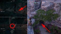 porphyrion cave ainigmata ostraka location where to find ac odyssey