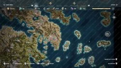 poseidons trident legendary chest map location ac odyssey