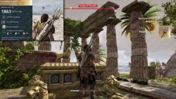 poseidons trident location stats assassins creed odyssey