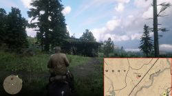 red dead redemption 2 shack locations clawson's rest