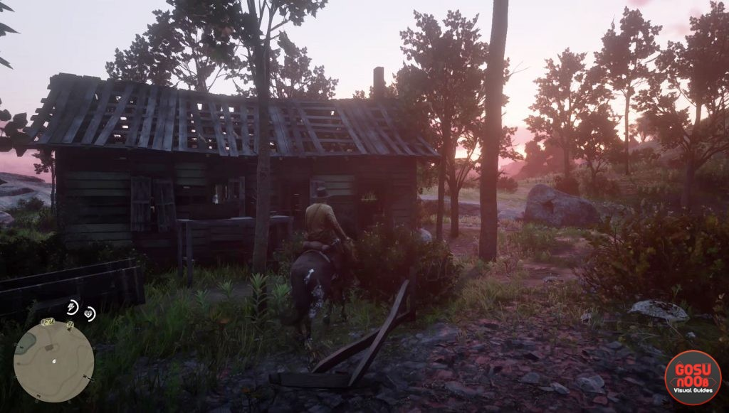 red dead redemption 2 shacks locations map