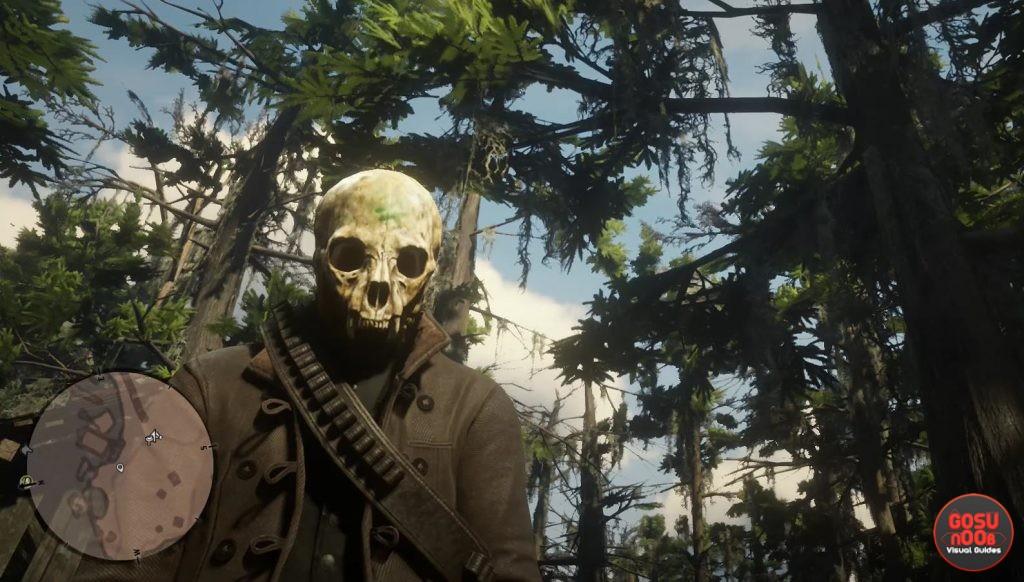 red dead redemption 2 unique mask locations