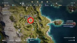 where to find king pausanias blood feast ac odyssey