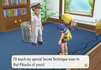 Pokemon Let's Go Pikachu & Eevee How to Chop a Tree