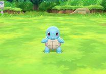 Pokemon Let's Go Pikachu & Eevee Squirtle Locations