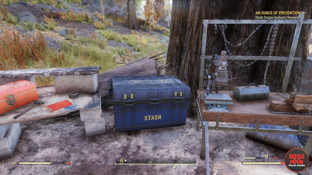Fallout 76 Can Players Steal From Camp Stash Containers