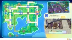 lavender town pokemon lets go