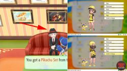 pikachu set pokemon lets go eevee pikachu how to get