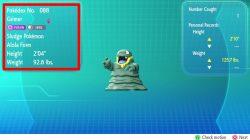 pokemon lets go grimer alola form how to get