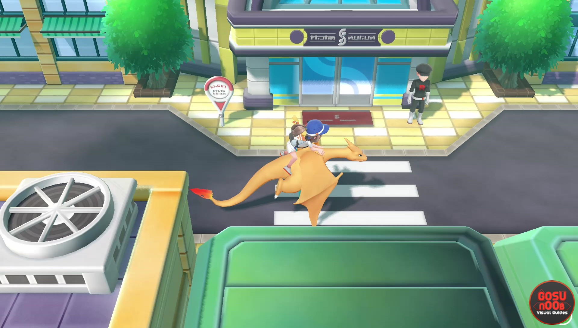 Pokemon Let S Go Silph Co Building Guide How To Get To Top