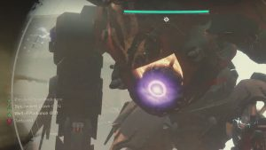 Inssurection Prime weak spot servitor Destiny 2