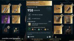 assassins creed odyssey legacy of first blade dlc persian elite legendary waist armor