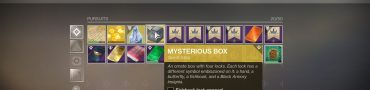 destiny 2 mysterious box exotic quest