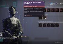 destiny 2 powerful auto rifle frame quest