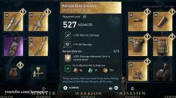 legendary persian elite leg armor ac odyssey dlc legacy of first blade