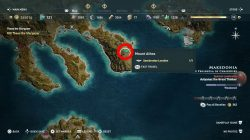 where to find makedonian lion assassins creed odyssey dlc legacy first blade