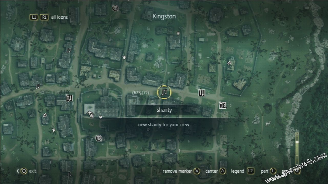 Kingston shanties locations guide gosunoob video game news map location gumiabroncs Choice Image