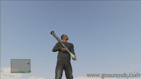 gta5 weapon RPG 1 middle size