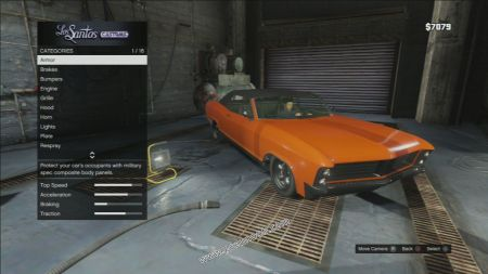 gtav vehicle Albany Buccaneer middle size