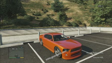 gtav vehicle Bravado Buffalo (Standard) middle size