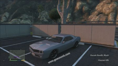 gtav vehicle Bravado Gauntlet middle size