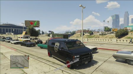 gtav vehicle Declasse Gang Burrito middle size