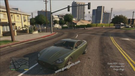gtav vehicle Ocelot F620 middle size