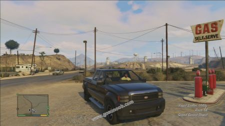gtav vehicle Vapid Sadler middle size