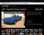 gta 5 vehicle Invetero Coquette Classic Topless thumb
