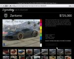 gta 5 vehicle Pegassi Zentorno thumb