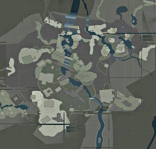 map of Mountain Village