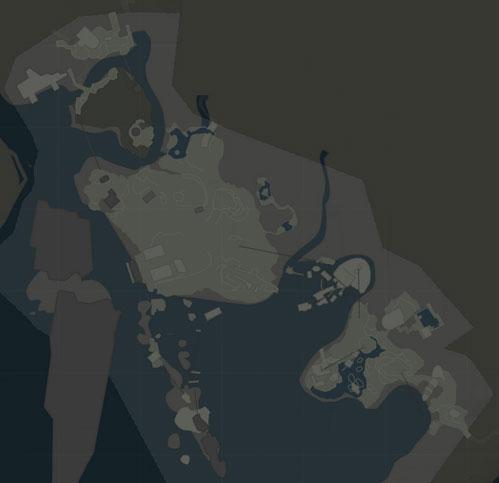 map of Shipwreck Beach