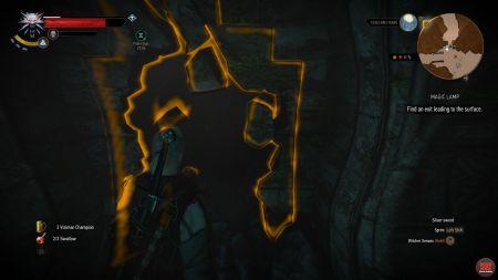Magic Lamp   Witcher 3