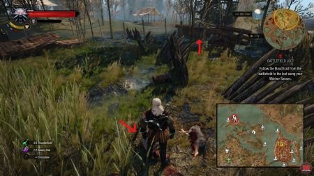 the witcher 3 how to find quest codes