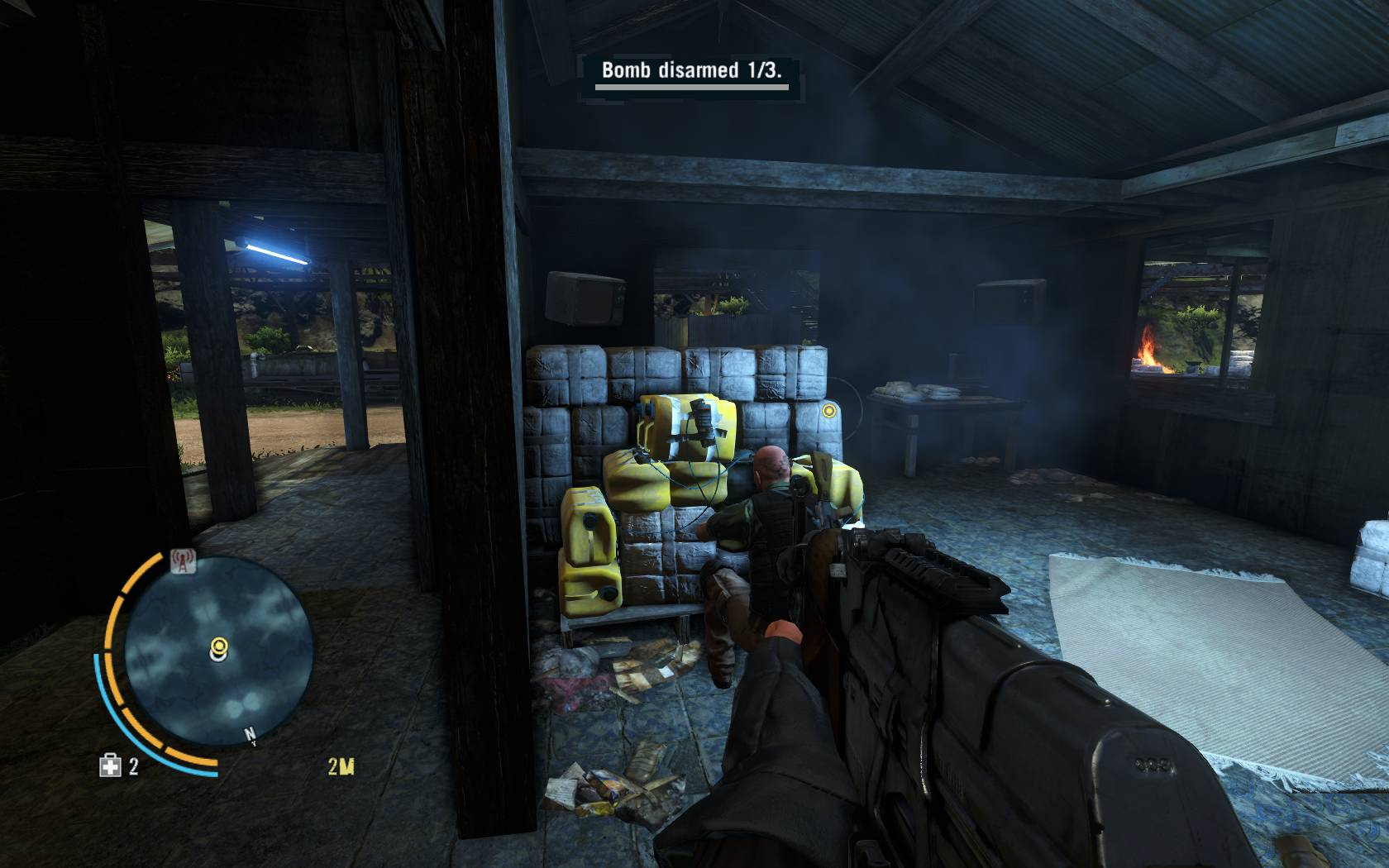 Far Cry 3 Defusing the Situation