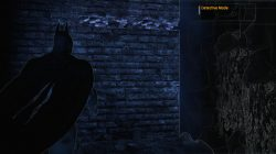 Batman Arkham Asylum Main Sewer Junction riddle 4