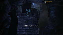 Batman Arkham Asylum Main Sewer Junction riddle solved