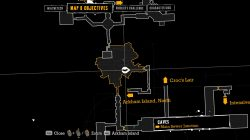 Batman Arkham Asylum Main Sewer Junction riddle map