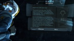 Artifact Location Dead Space 3 Chapter 6 Image6