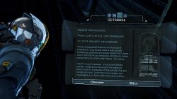 Dead Space 3 Artifact 2 Chapter 4 Image7