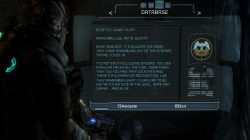 Dead Space 3 Log Location 10 Chapter 9 Image4
