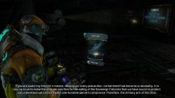 Dead Space 3 Log Location 3 Chapter 11 Image2
